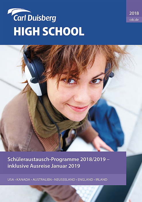 High School Broschüre - Copyright Carl Duisberg Centren