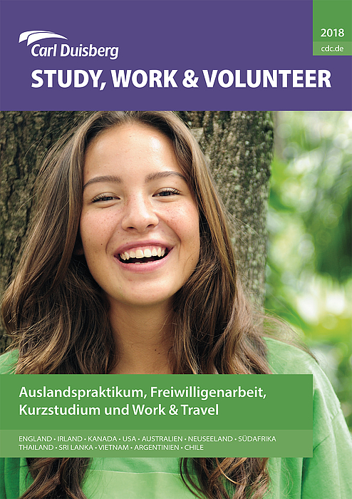 Cover Study Work and Volunteer 2018 - Copyright Carl Duisberg Centren