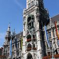 Das Neue Rathaus am Münchner Marienplatz