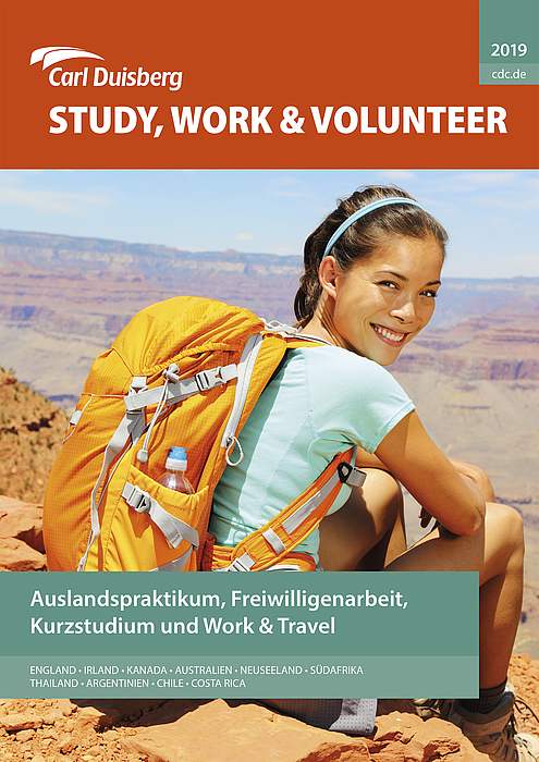 Cover Study Work & Volunteer 2019 - Copyright Carl Duisberg Centren